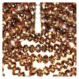 Jewelry - VINTAGE GORGEOUS SPARKLY 9 TIERED BRACELET